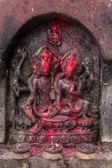 Hindu Goddess Stone Sculptor