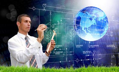 Scientific engineering technologies that change the weather.Development software