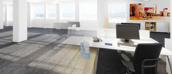Büroeinrichtung Vision (panoramisch)