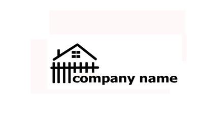 house&garden text logo