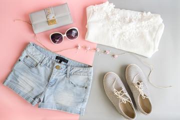 Fashion summer women clothes set