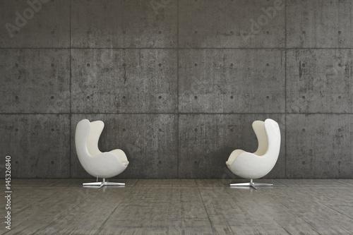 Sessel Interior Wohnen Modern Design Innenraum Stockfotos Und