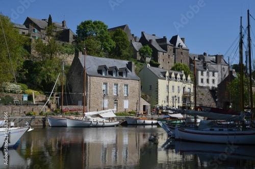 Port De La Roche Bernard Morbihan Stock Photo And Royalty Free