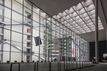 Berlin, Bundestag, Seitenansicht