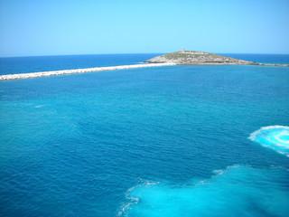 sky blue summer sea by emmanuelgr