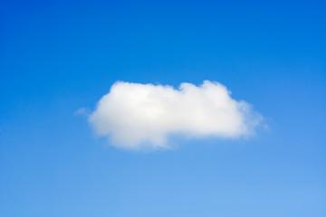 Fluffy Lone Cloud
