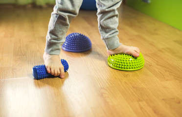 Flat feet correction exercise
