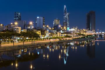 Fototapete - Ho Chi Minh City