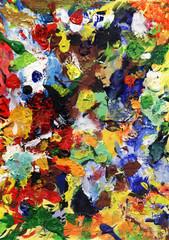 Art background. Color Spots