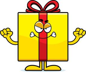 Angry Cartoon Birthday Gift