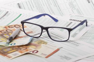 Steuer, Einkommenssteuererklärung