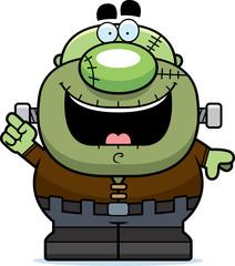 Cartoon Frankenstein Idea