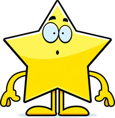 Surprised Cartoon Star
