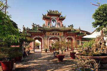 Gate of Phuoc Kien Assembly Hall (Hội quán Phước Kiến) , Hoi An, Vietnam