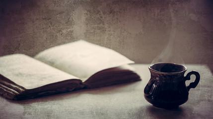 Cup of coffee. Coffee break, breakfast.
