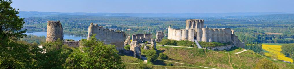 Château-Gaillard,  Eure, Normandie Fototapete