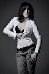 portrait of beautiful glamour woman