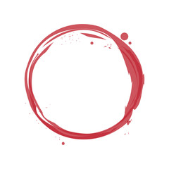 wine stain icon over white background. colorful design. vector illustration