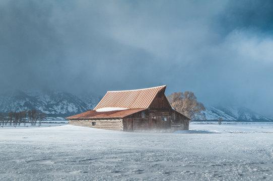 Mormon Row Winter