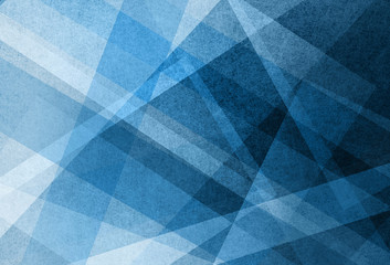blue white and black layers in abstract background pattern with lines triangles and stripes in geometric design