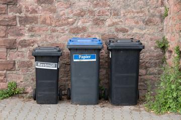 Mülltrennung und Recycling in Deutschland