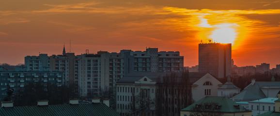 Warsaw Sunset IV
