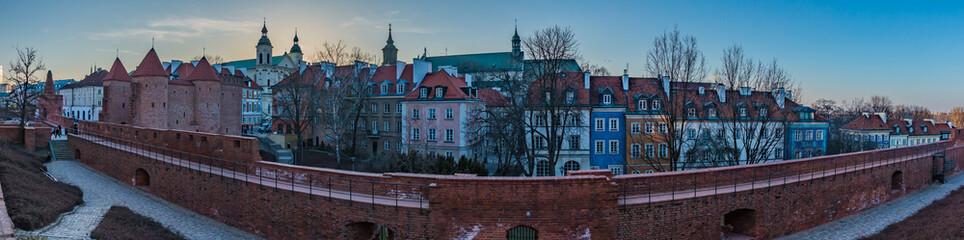 Warsaw Old Town Panorama