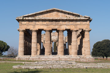Temple of Paestum Archaeological site, Italy