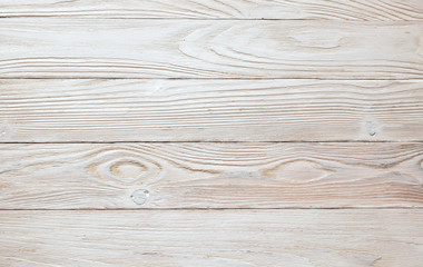 Texture white wooden background. top view. Horizont oientation.