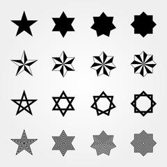 図形 星型 02