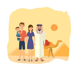 Family travel to Arab emirates: traditions, culture, sights, joint vacation.