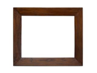 Schöner Bilderrahmen aus Holz, freistehend und mit Freifläche für Bild oder Text
