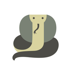 Vector Illustration of a Cobra