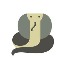 Vector Illustration of a Cobra