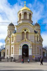 Wall Mural - Riga Lettland Kirche orthodox