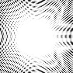 circle elements circle halftone background