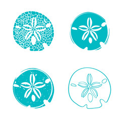 Sea Sand Dollar Design Set