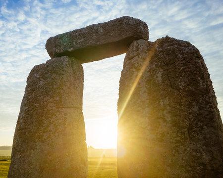 Stonehenge Arch at Dawn