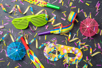 Colorful birthday or party background