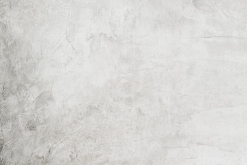 dirty white cement wall background and texture with space