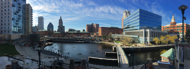 Panorama of downtown Providence, Rhode Island