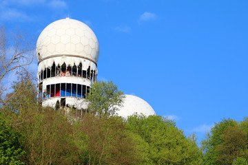 Teufelsberg Berlin mit Abhöranlage