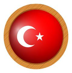 Icon design for flag of Turkey