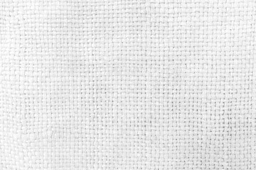 White Sack Texture Background.