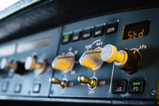 Airbus autopilot instrument panel dashboard