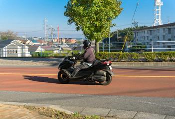 オートバイ 自動二輪車