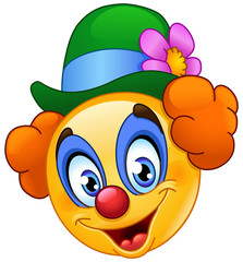 Clown emoticon
