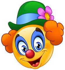 Clown emoticon