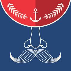 Flat Marine Icon