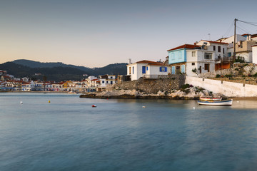 Kokkari village on Samos island, Greece.